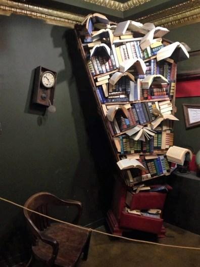 Shelves are full