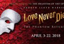 The Phantom returning to the Pantages in Love Never Dies