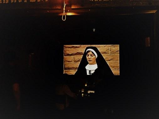 Screen in the Phantom Theatre