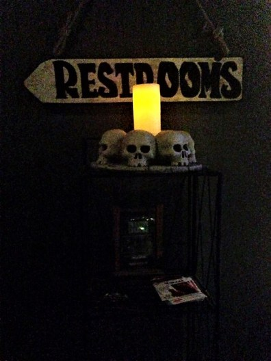 Scary restrooms