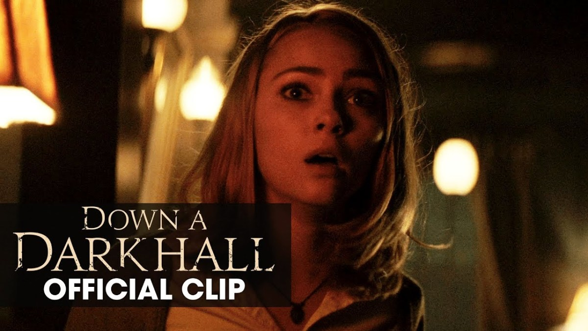 DOWN A DARK HALL: Video Clip