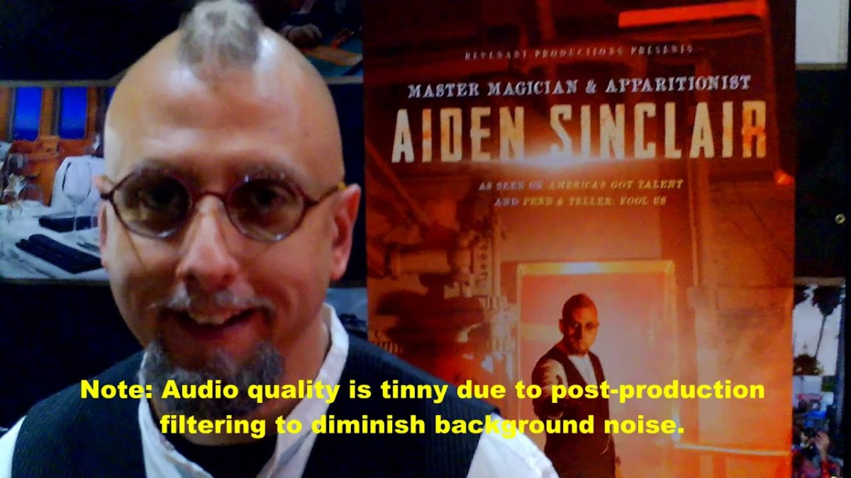 "Aiden Sinclair on ""Illusions of the Passed"" at the Queen Mary"