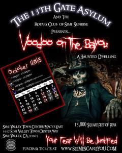 13th Gate Asylum 2018 poster