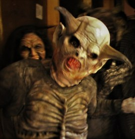 Into the Black monsters at HorrorWorld 2018