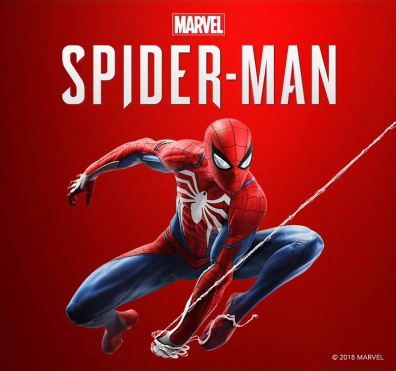 Spiderman game logo