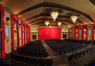 Vista Theatre interior