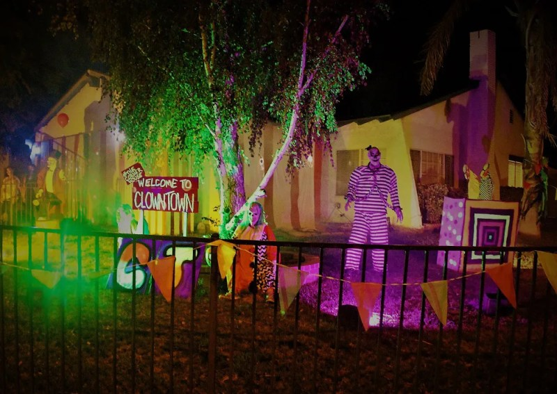 Clown Town 2018 front yard