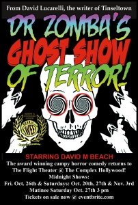 Doctor Zomba's Ghos -Show of Terror Promo-Poster
