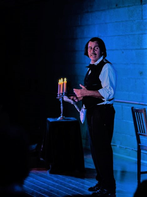Force of Nature Edgar Allan Poe Review Duffy Hudson 2 photo by Carlos R. Hernandez