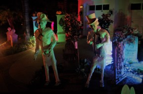 Orange County 2018 yard haunts Haunted Mansion