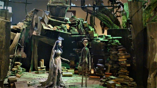Warner Bros Studio Tour Corpse Bride display 2018