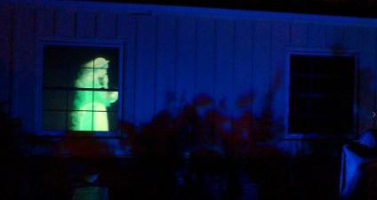 Van Oaks Cemetery 2018 haunted window 2