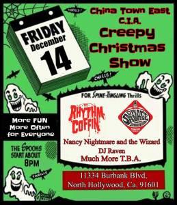 Creepy Christmas Show 2018