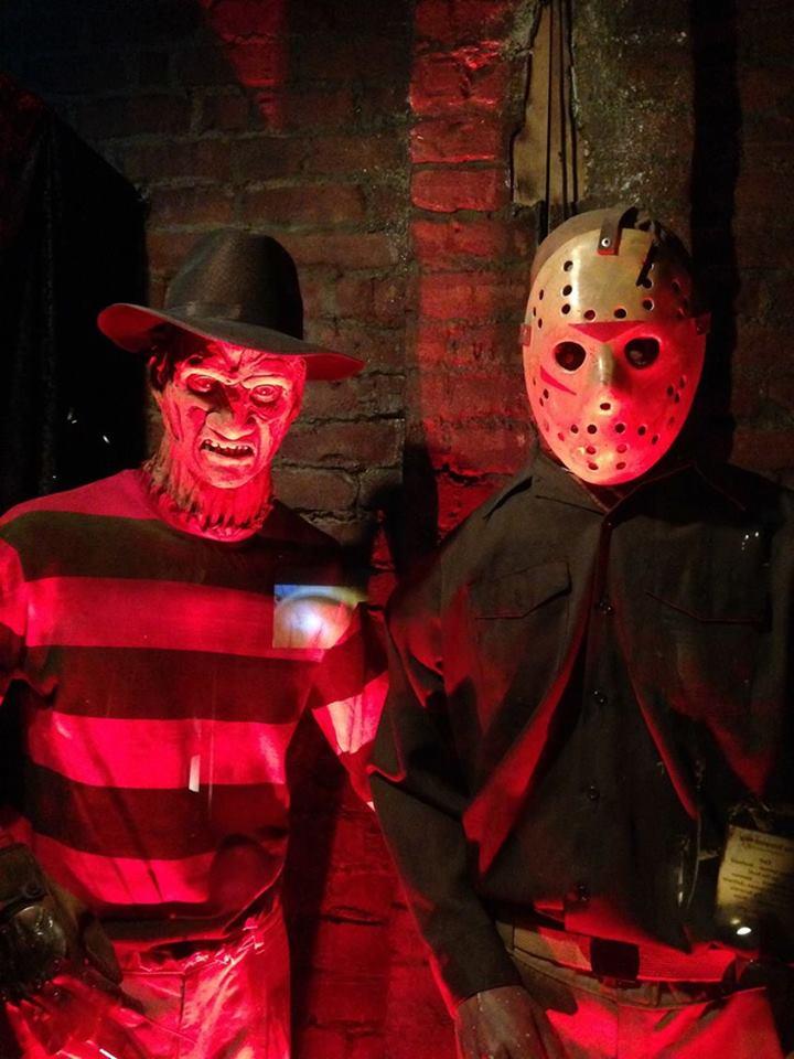 Hollywood Museum Dungeon of Doom Jason Voorhees Freddy Kruger
