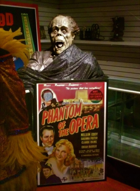 Hollywood Museum Phantom of the Opera 1943 poster