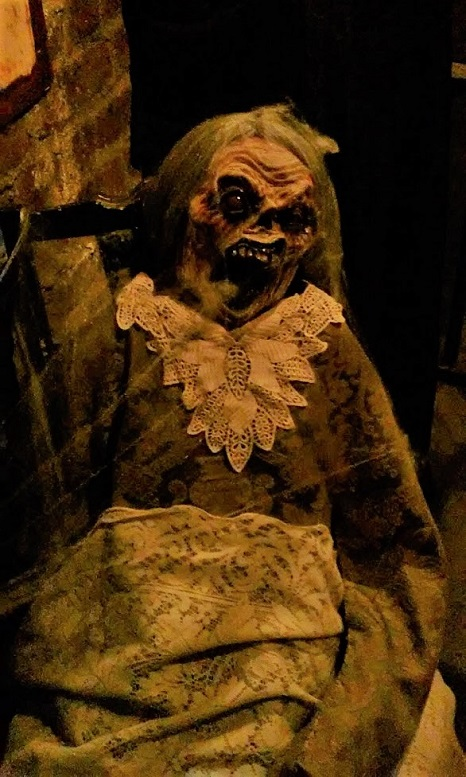 Hollywood Museum Monsters Mummies and Mayhem grandma corpse
