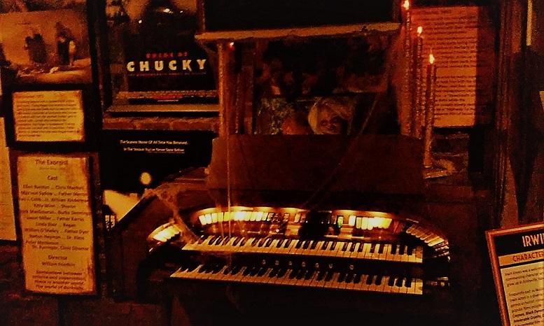 Hollywood Museum Monsters Mummies and Mayhem organ