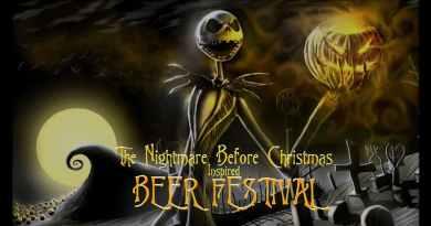 Nightmare Before Christmas Beer festival
