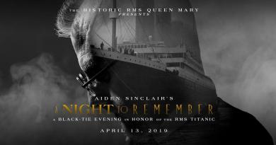 Queen Mary Night to Remember Sinclair