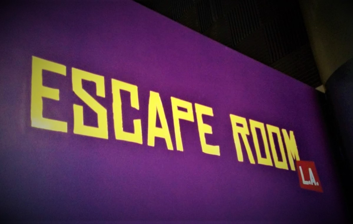 Escape Room L.A.'s Haunted Theatre (review)