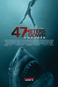 47 Meters Down Uncaged One Sheet