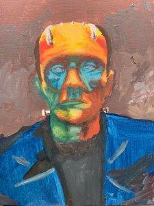 Drink N Paint Frankenstein