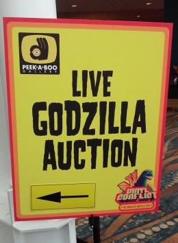 Midsummer Scream 2019 Review Godzilla auction