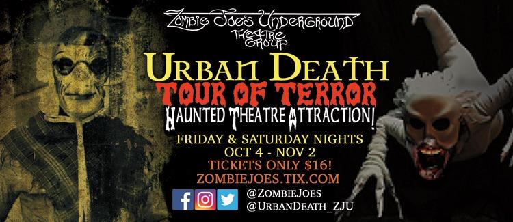 Urban Death Tour of Terror 2019
