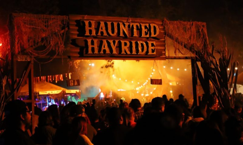 L.A. Haunted Hayride 2019 entrance