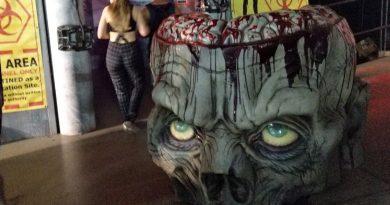 LA Count Fair Zombie Maze review