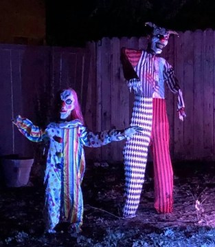 Clown Town Yard Haunt Halloween 2019