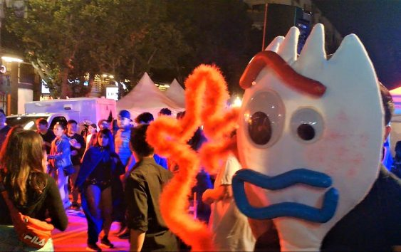 Haunted Little Tokyo Block Party 2019 Forky
