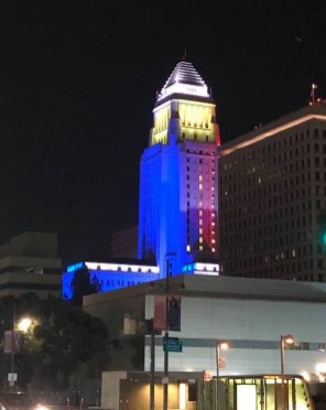 Los Angeles City Hall Halloween 2019