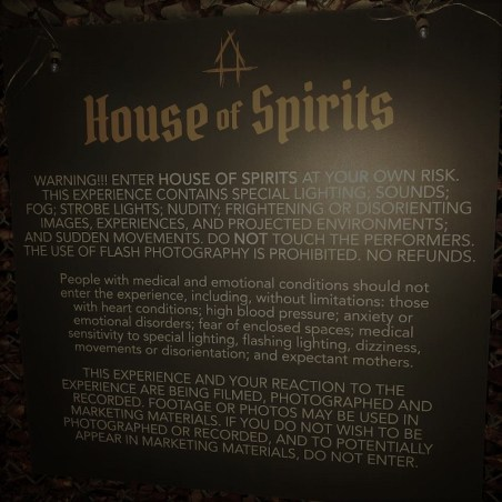 House of Spirits haunted house