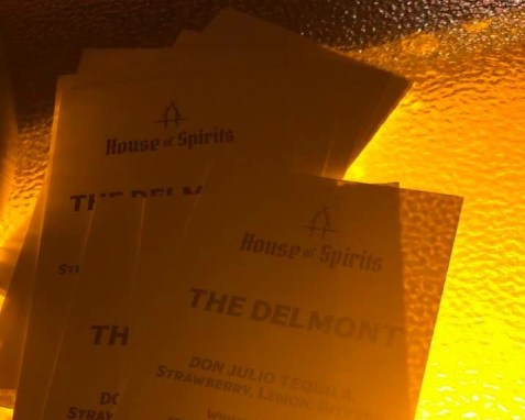 The Delmont: Don Julio with strawberry lemonade