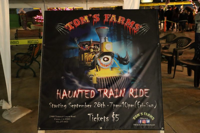 Tom's Farms 2019 Haunted Train Ride