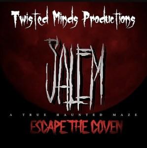 Twisted Minds 2019 Salem Dates TImes