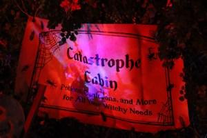Catastrophe Cabin home haunt 2019