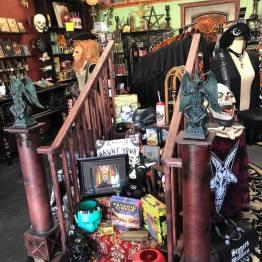 Monster merchandise in the gift shop