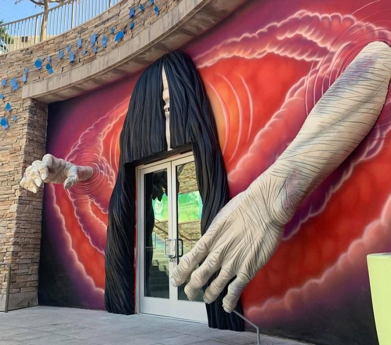 Richard & C Haunted House 2020 entrance