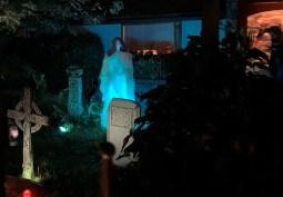 Mysterious figure invokes the spirits.