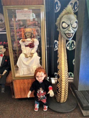 Annabelle meets Chucky.