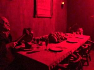 HorrorWorld Chainsaw Massacre dinner