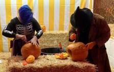 Pumpkin Carvers at work