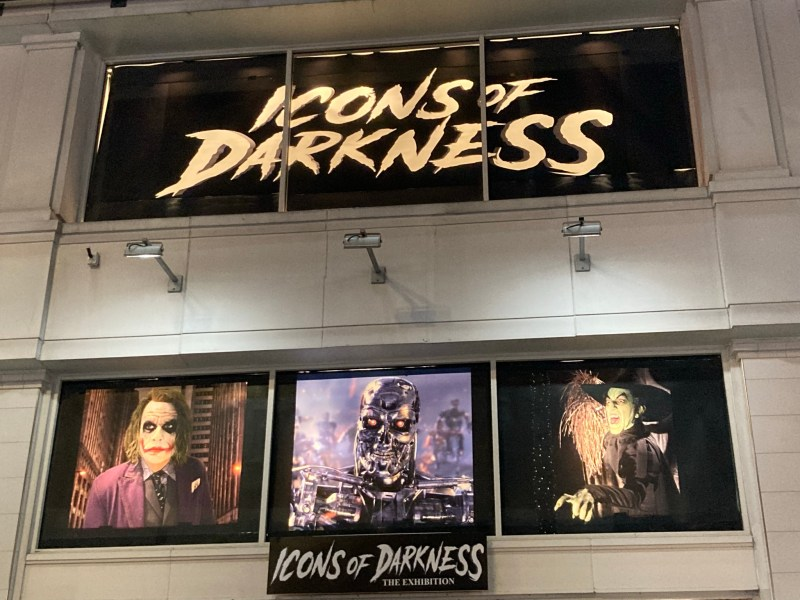 Icons of Darkness at Hollywood and Highland
