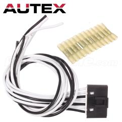 7 Wire Blower Motor Resistor Harness Auto Electrical Wiring Diagrams Pigtail Plug Connector For