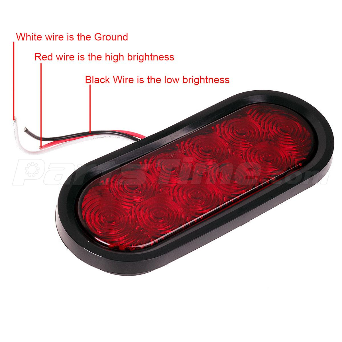 Diagram For Led Tail Light Brake Light Wiring With 3 Wire Turn