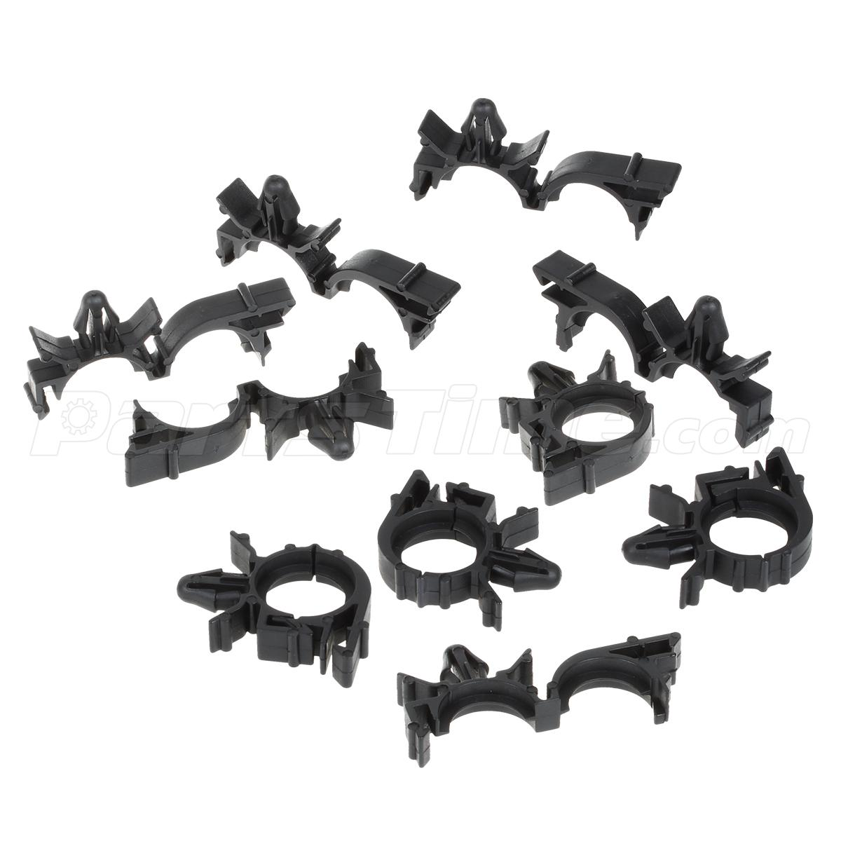 medium resolution of  gm wire harness retainer pcs wire loom routing split conduit clips wiring harness clips and loom
