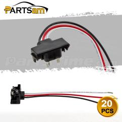Kenworth Pigtail Wiring Diagram 2006 Honda Civic Ex Stereo 20 3 Prong Wire Right Angle Plugs For Round Oval