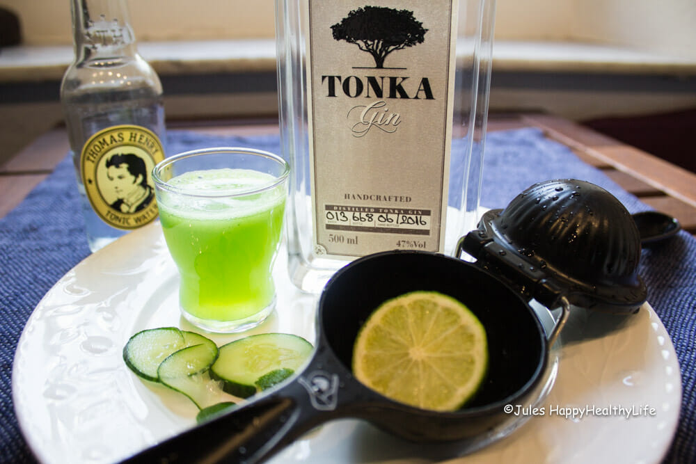 Ingredients for TONKA Gin Tonic Popsicle - Jules HappyHealthyLife